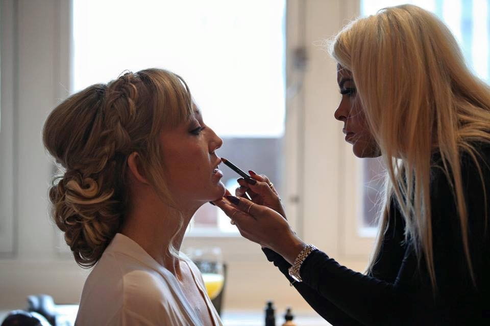 Bridal make up trial