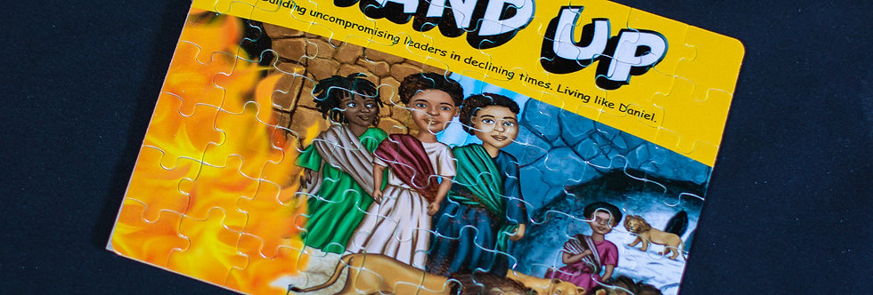 Stand Up: Daniel and the Lion's Den Mini Puzzle