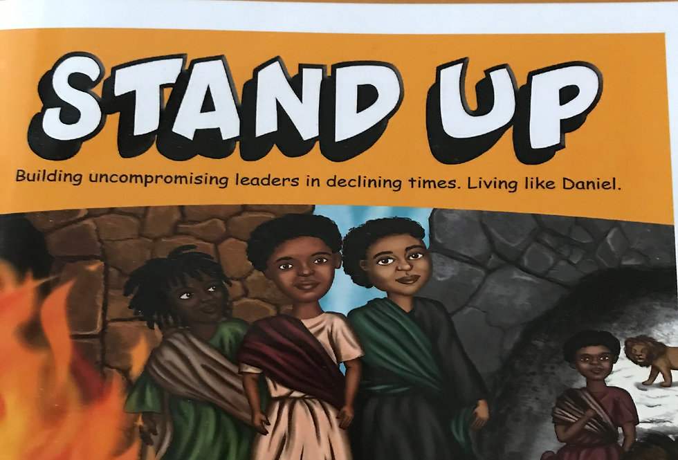 The Stand-Up: Living Like Daniel curriculum