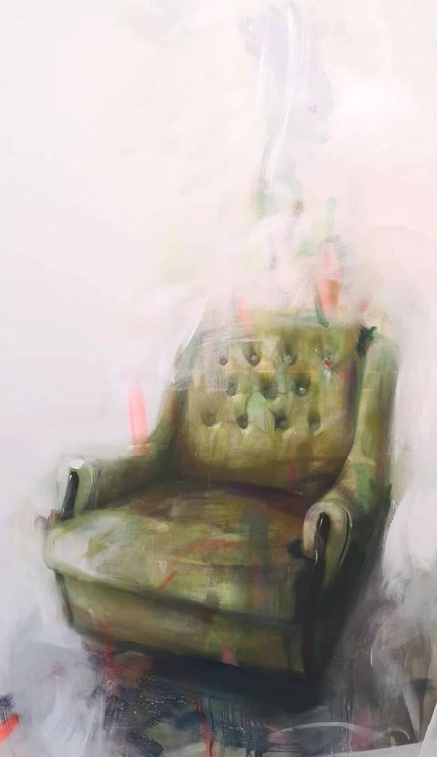 A Portrait Of An Armchair