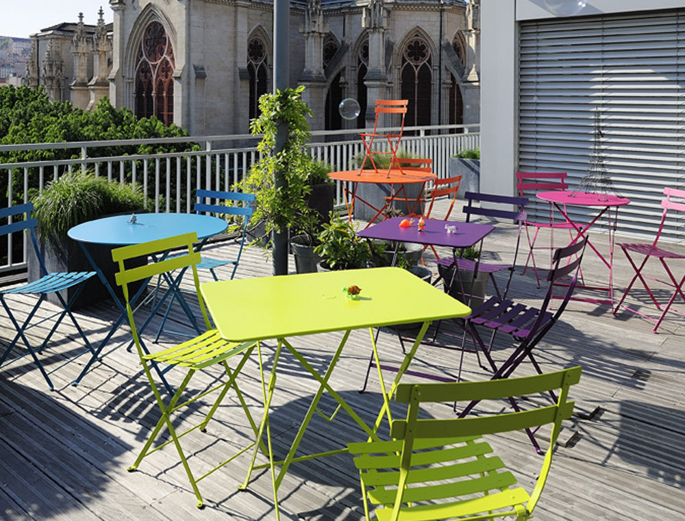 Fermob bistro folding chairs from Paris