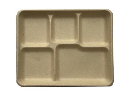 Square Compartment Plate