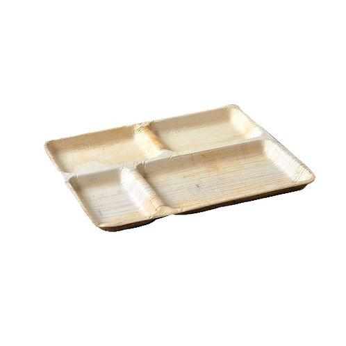 Areca Leaf Compartment Plate