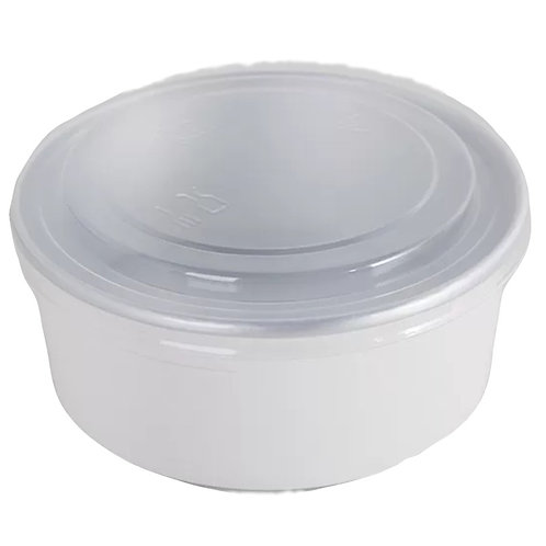 Paper Bowl with Lid