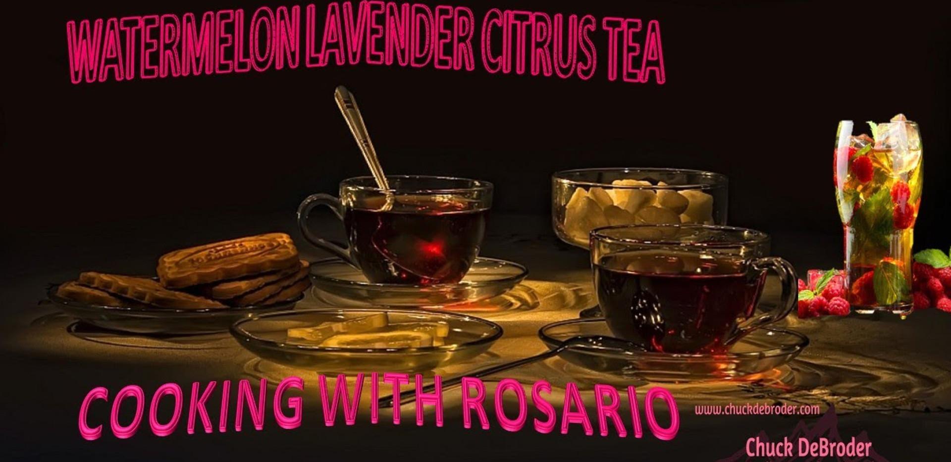 WATERMELON LAVENDER CITRUS TEA