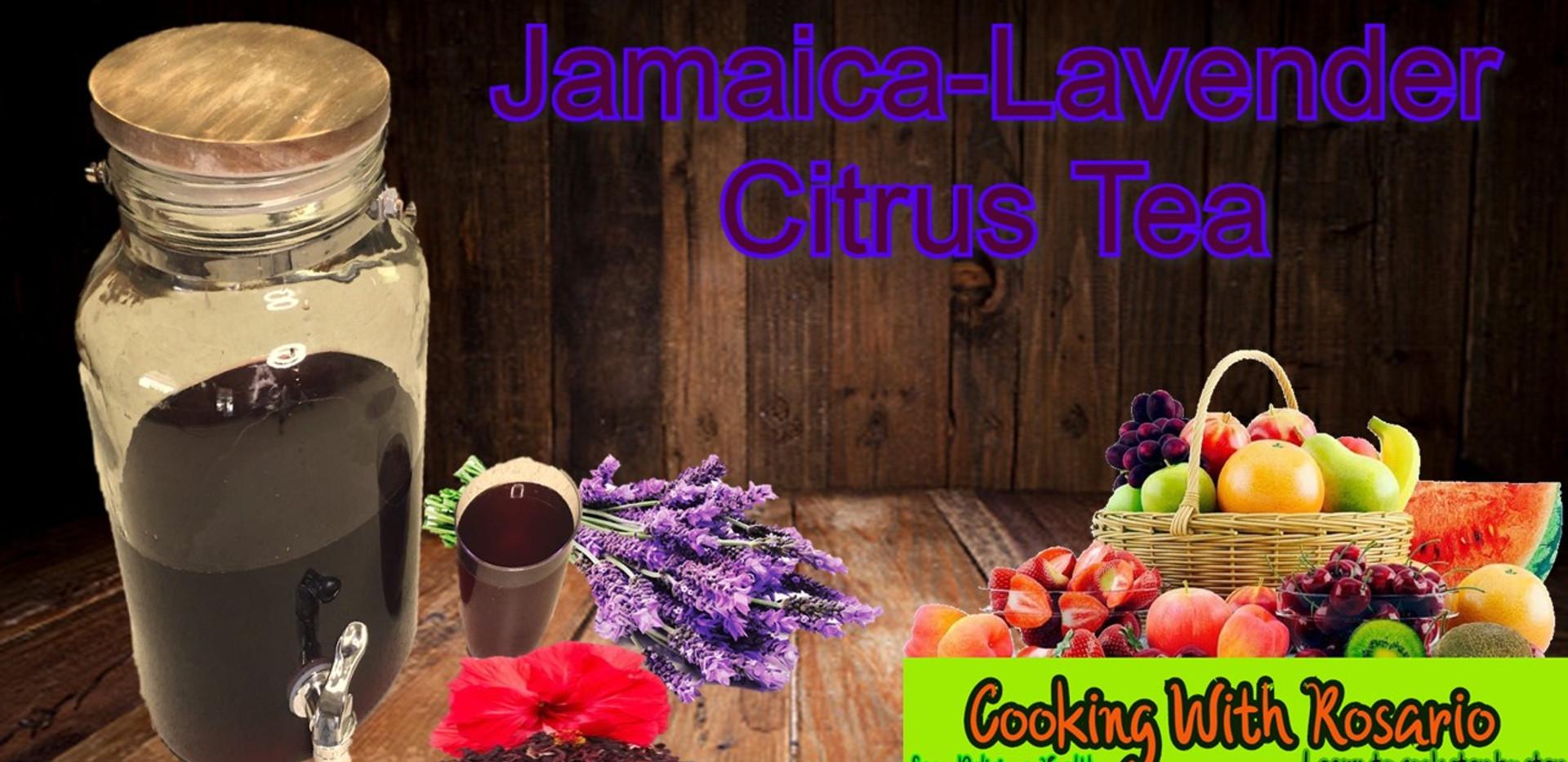 JAMAICA LAVENDER CITRUS TEA.mp4