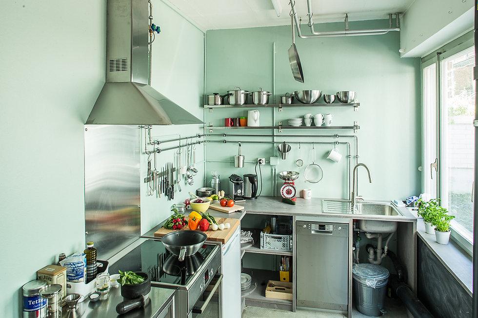 Die Fotostudio-Küche von Stefan Schmidlin, Fotograf Basel