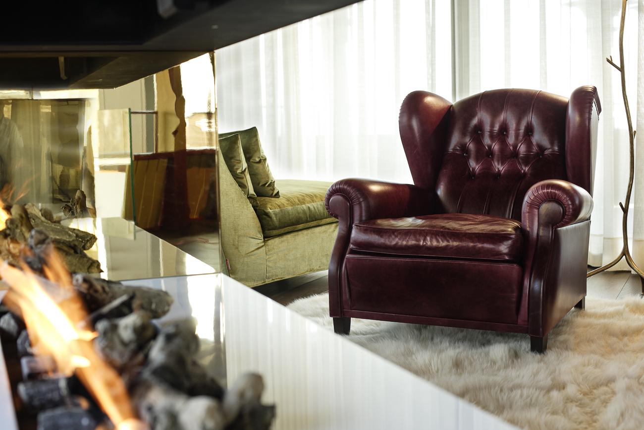 The Dolder Grand, Maestro Suite, Stefan Schmidlin, Architekturfotograf Basel