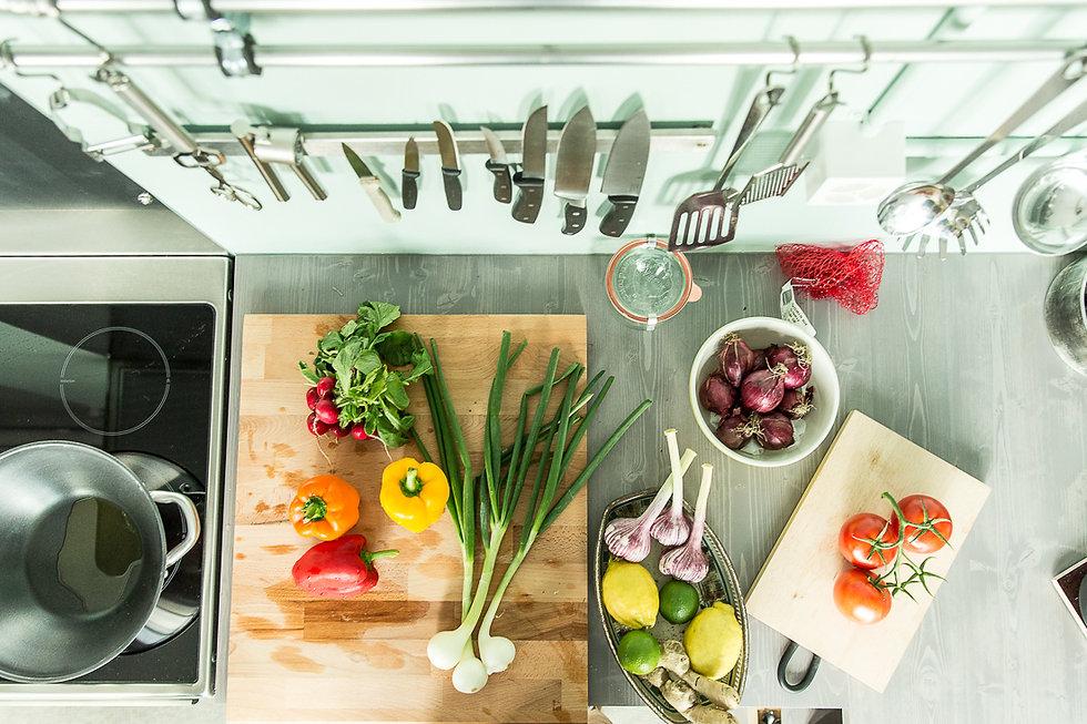 Studioküche für Food-Fotoshootings, Stefan Schmidlin Fotograf Basel