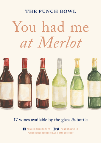 The Punch Bowl - You had me at Merlot