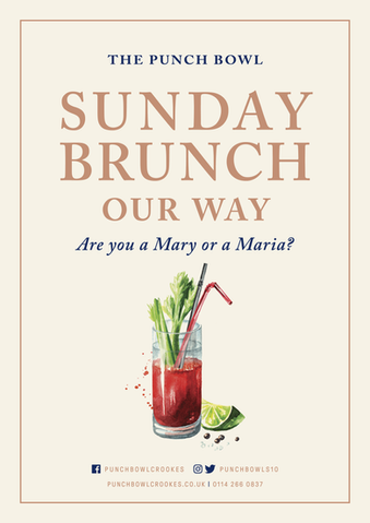 The Punch Bowl - Sunday Brunch