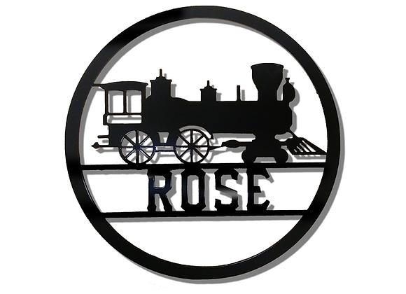 Train Monogram