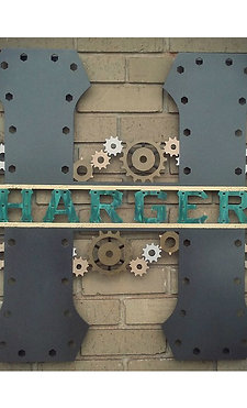 Steampunk Monogram