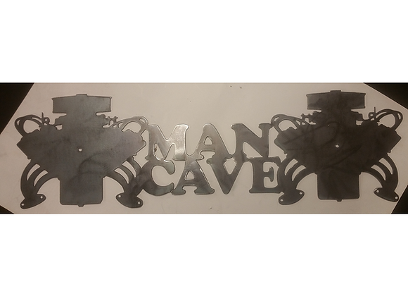 Engine Man Cave Sign