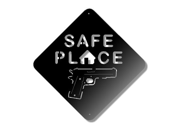 45 Cal Safe Place Sign