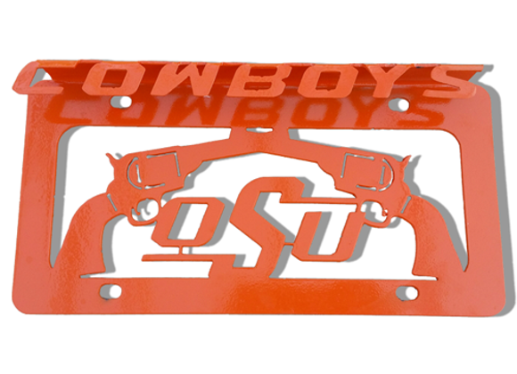 OSU 3D Front License Plate