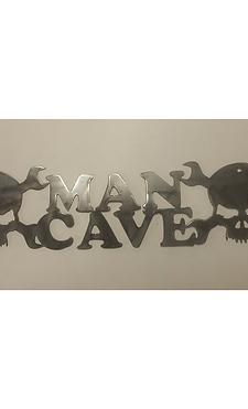 Mechanics Skulls Man Cave Sign