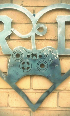 Game Controller Monogram