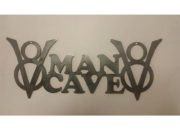 V8 Man Cave Sign