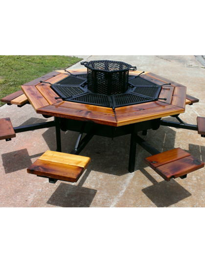 8 Seat Fire Pit