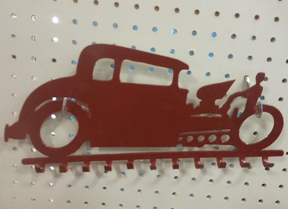 Hot Rod Key Rack