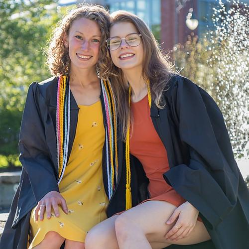 Gabi & Haley's Grad Photoshoot