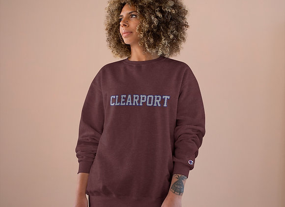 Vintage Clearport Champion Sweatshirt