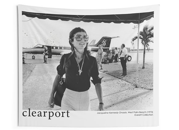 """Jackie-O at the Clearport, Vogue"" Indoor Wall Tapestries"
