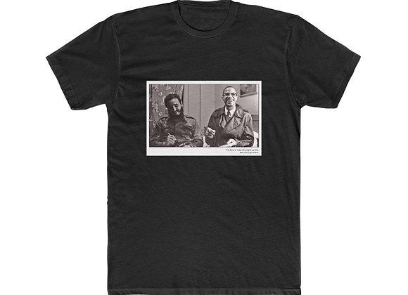 """Fidel Castro & Malcolm X"" Unisex Cotton Tee"