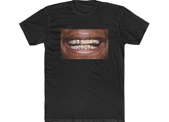 """Black Power Grillz"" Unisex Tee"