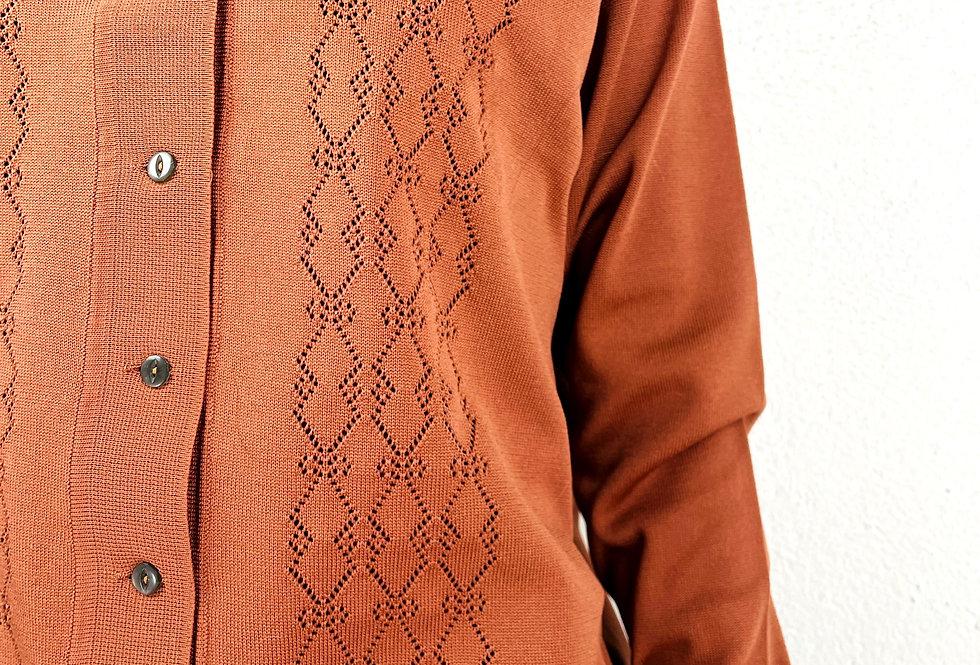 cardigan-maglione-traforato-vintage
