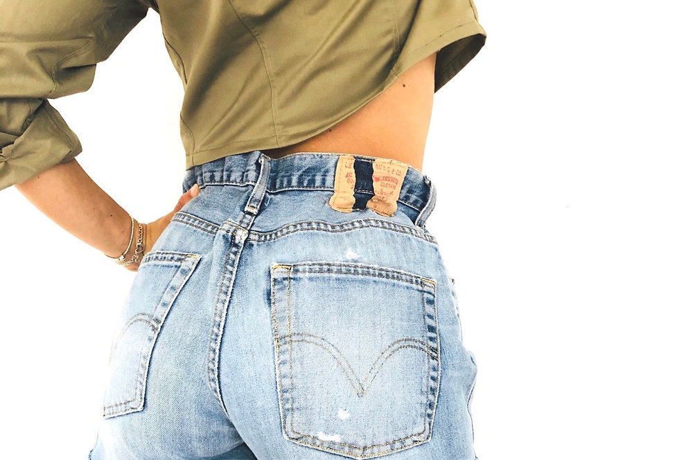 shorts-levis-vintage-jeans-denim-caramella