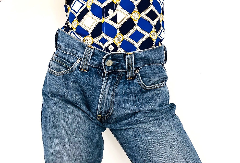 shorts-levis-caramella-lunghi-denim-jeans-vintage