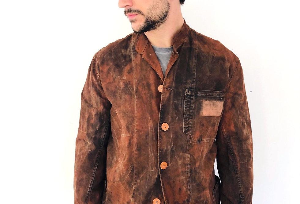 giacca-cotone-arrugginita-vintage