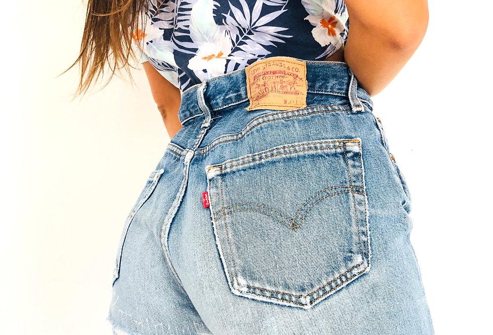 shorts-jeans-denim-caramella-levis-vintage