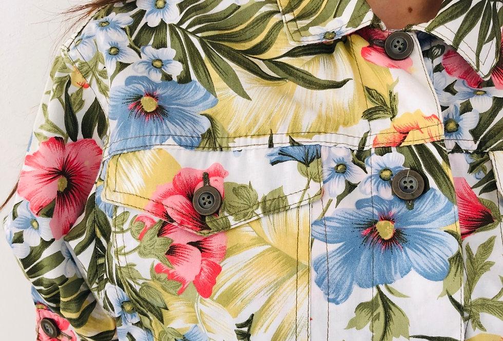 camicia-floreale-manica-sbuffo-vintage