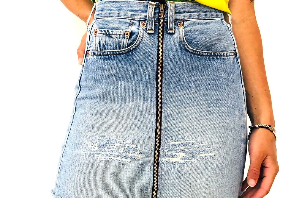 gonna-jeans-denim-levis-zip-vintage