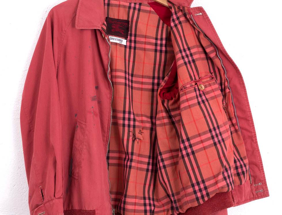 giacca-burberrys-vintage-customizzata