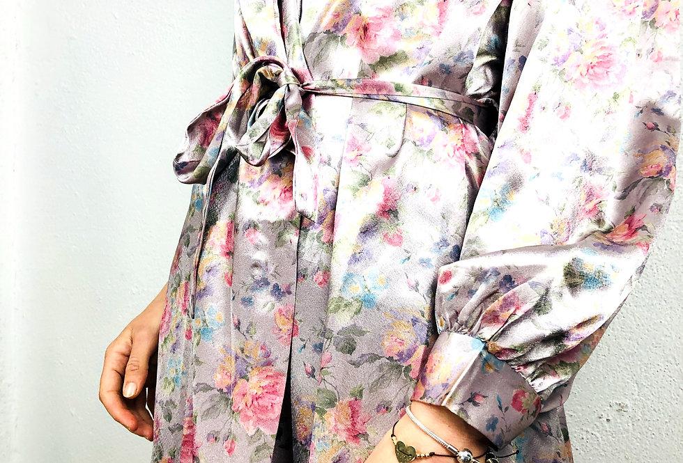 vestaglia-fiori-seta-vintage