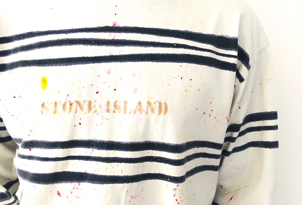 maglia-stone-island-righe-pittura-vintage