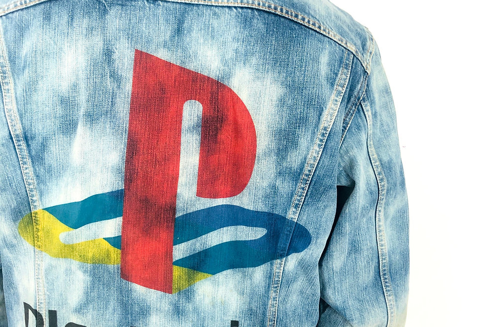 giacca-jeans-levis-tiedye-playstation-vintage