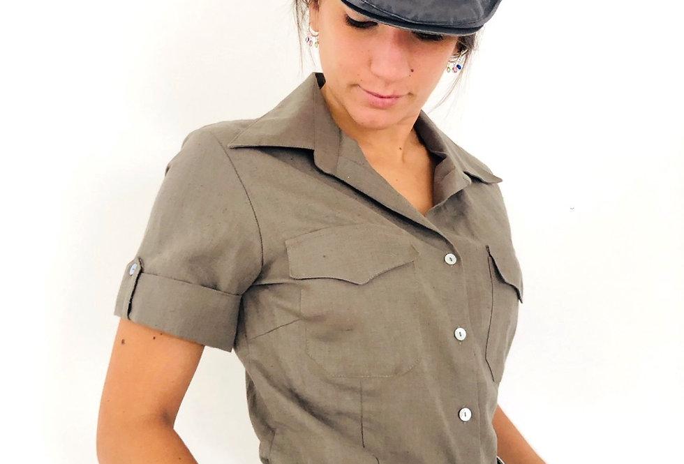 camicia-lino-vintage-mezza-manica