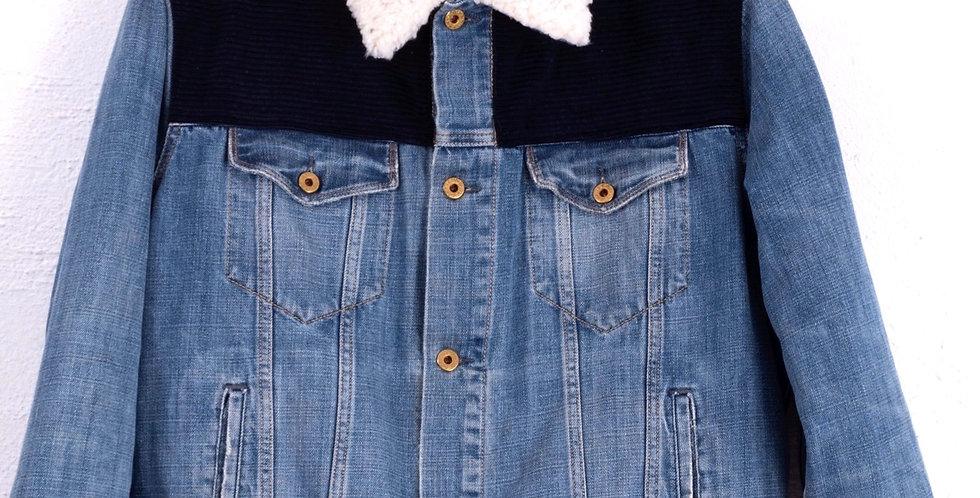 giacca-sherpa-denim-jeans-polo-ralph-lauren-vintage