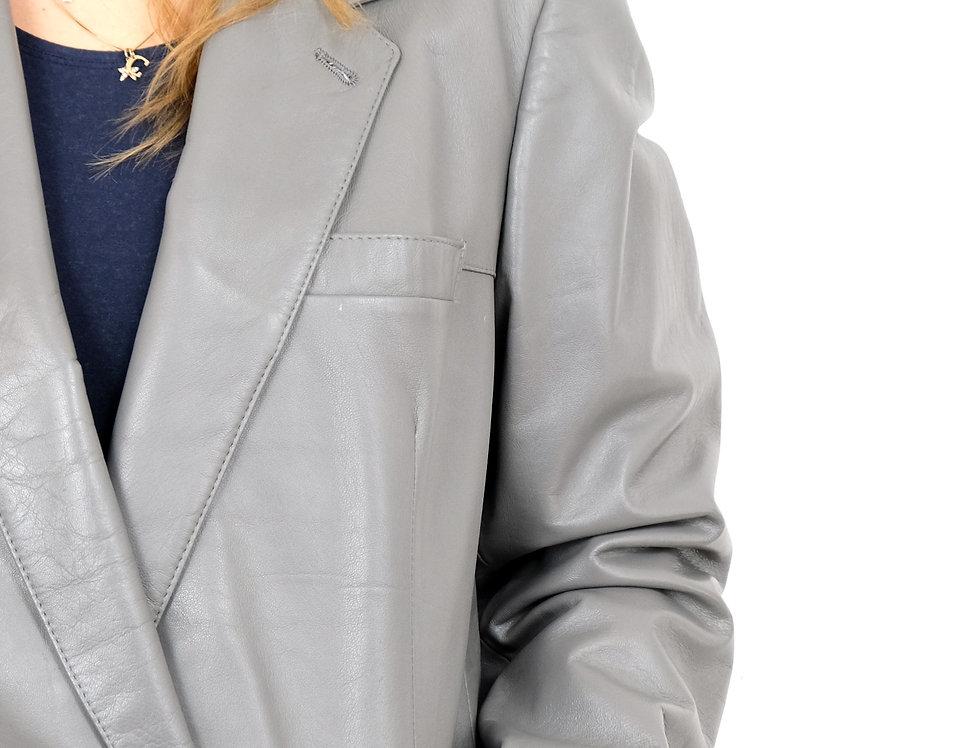 giacca-grigia-vera-pelle-vintage