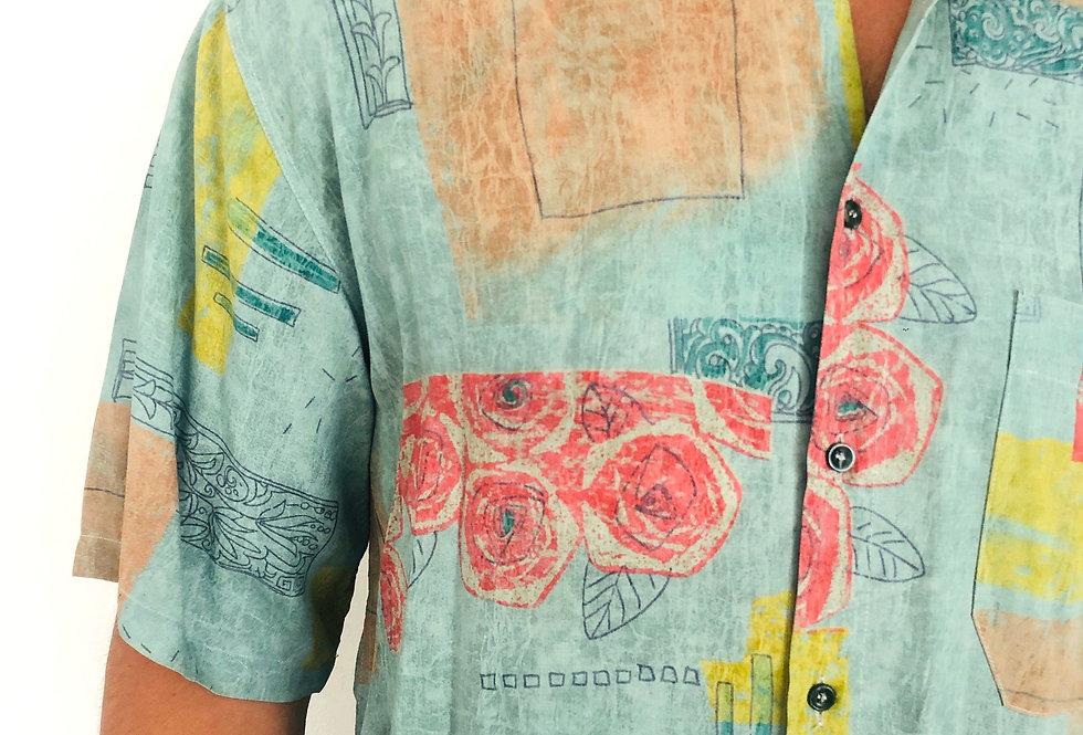 camicia-hawaiana-vintage-fiori