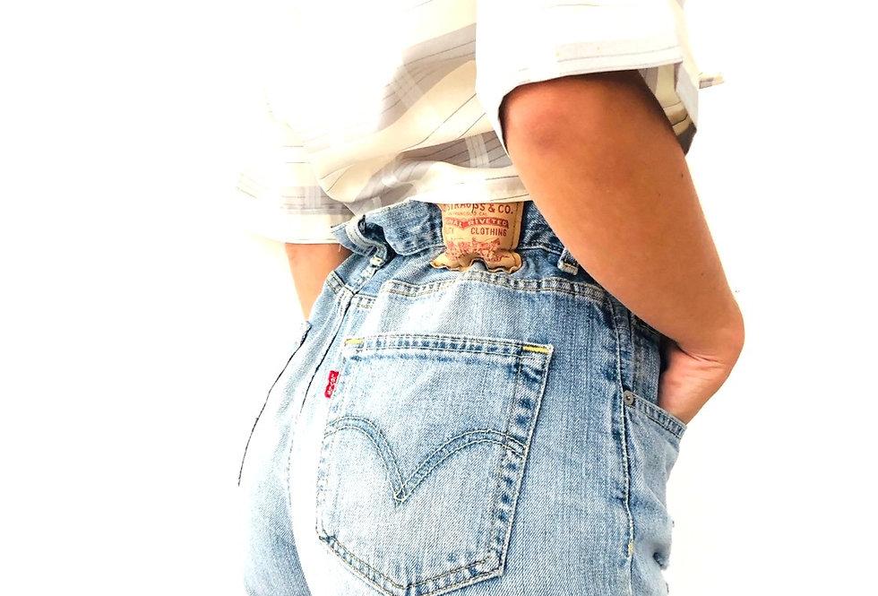 shorts-jeans-denim-levis-vintage-caramella
