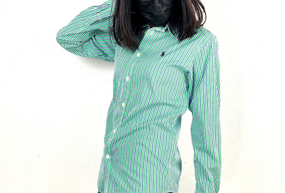 camicia-polo-ralph-lauren-vintage-righe