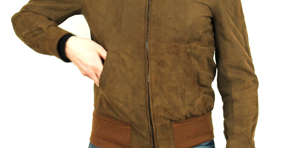 giacca-bomber-pelle-scamosciata-vintage