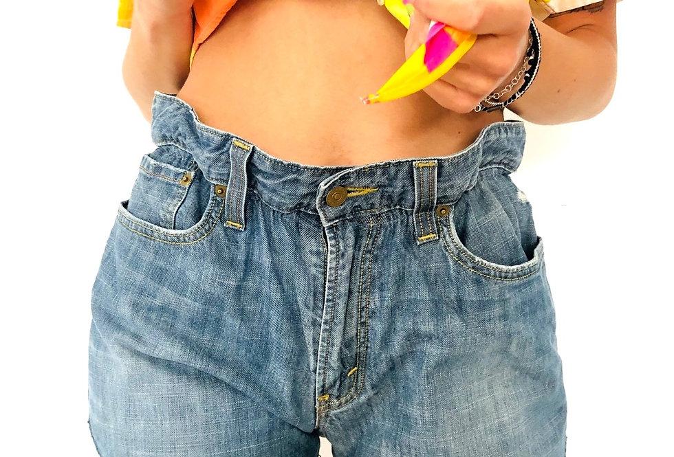 shorts-jeans-levis-caramella-vintage-denim