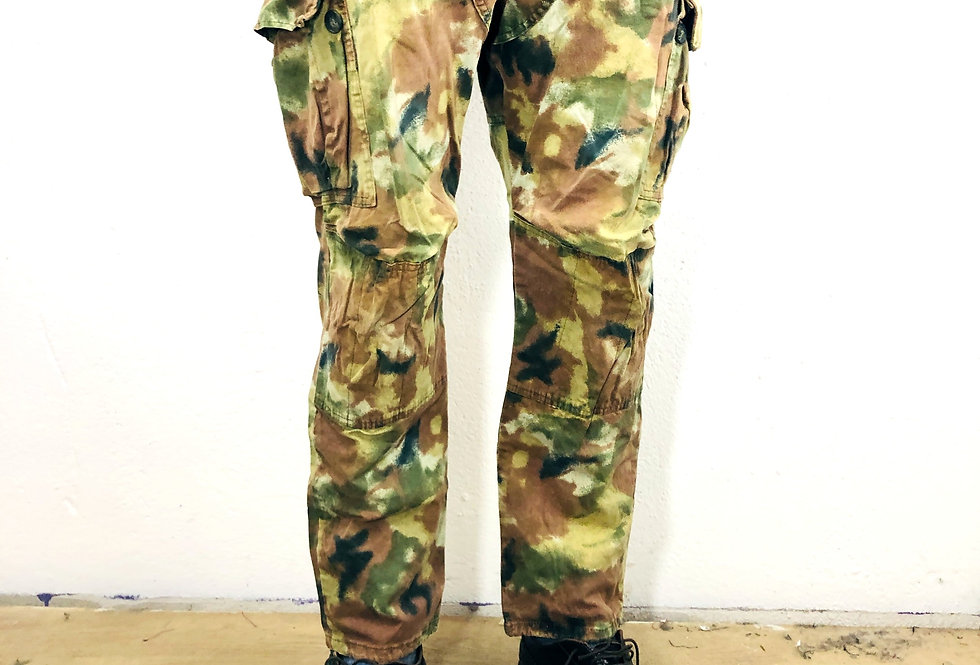 pantaloni-camouflage-vintage